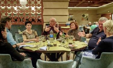 U večeře rozebíráme... hádejte co