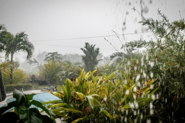 Prší trochu víc