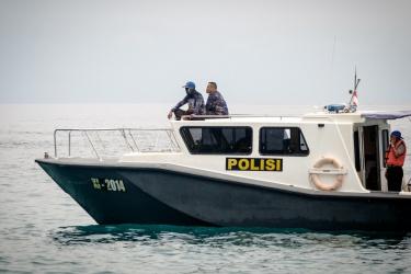 Přijela policie
