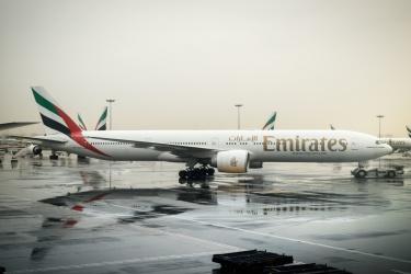 V Dubaji prší