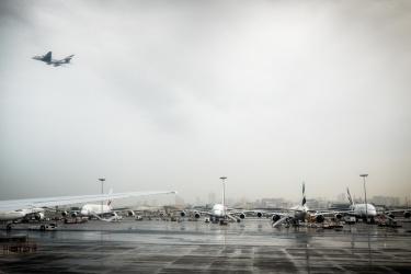 Čekání na runwayi