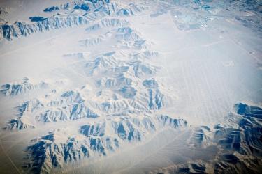 Zasněžený Írán