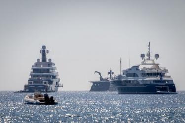 Jachty v jižním zálivu
