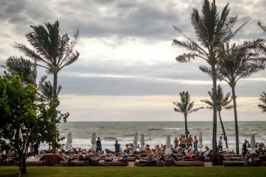 Jeden z největších barů na Bali