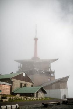 Věž se ukazuje